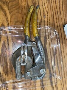 Antique Whitney Metal Tool Co Punch No 5 Pat 5 24 13 Made In Usa
