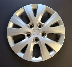 One Wheel Cover Hubcap 2012 Honda Civic 15 Silver Oem 55091 Used