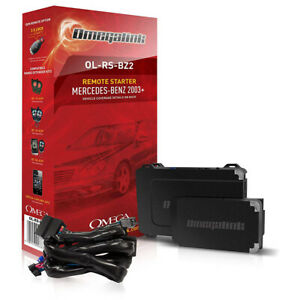 Omegalink Mercedes 03 17 Remote Start Kit T Harness And Hardware
