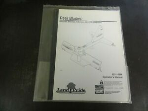 Land Pride Rb0548 Rb0560 Rb1560 Rb1572 Rb1584 Rear Blades Operator s Manual 10