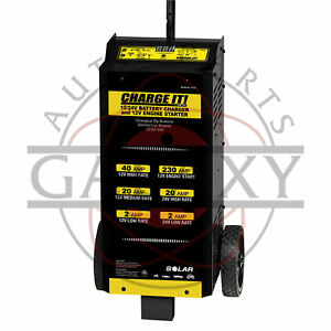 4745 Charge It 12 24 Volt Wheel Automotive Battery Charger 40 20 5 200 Amp