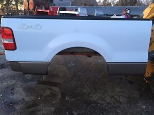 Ford F150 6 5 Pickup Box F 150 Short Bed White And Tan 04 08 Rust Free
