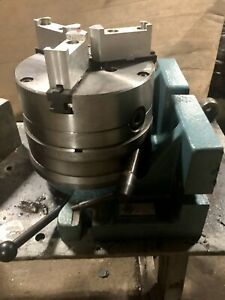 Bison 8 Horizontal vertical Rotary Indexing Super Spacer W 8 Chuck 5810 160