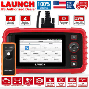 Launch Crp129x Obd2 Scanner Full Diagnostic Tool Oil Epb Tpms Reset Code Reader