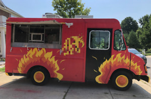 2001 18 Workhorse P42 Food Truck Used Kitchen On Wheels For Sale In Marylan