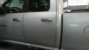 2009 2014 Dodge Ram 1500 Pickup Driver Rear Side Door Silver 2305172