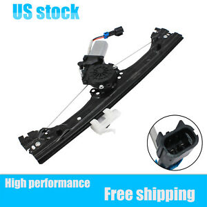 For Fiat 500 New Window Regulator Assembly W motor Front Passenger Side 1 4l