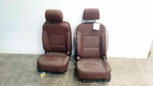 Pair Of Heated Cooled Power Leather Bucket Seats Fits 2015 18 Tahoe 6303004