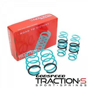 Godspeed Traction S Performance Lowering Springs For Honda Civic Fc 16 New