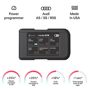 Audi A5 S5 Rs5 Smart Engine Tuning Chip Power Programmer Performance Race Tuner
