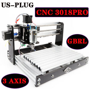 Cnc Router Kit 3018 pro Carving Milling Engraving Machine Diy Wood Metal 3 Axis