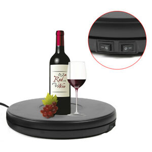 360 Electric Display Stand Rotating Motorized Turntable Display Abs Base