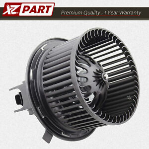 For 2002 2007 Jeep Wrangler Liberty Heater Blower Motor W Fan Cage 5066553aa New