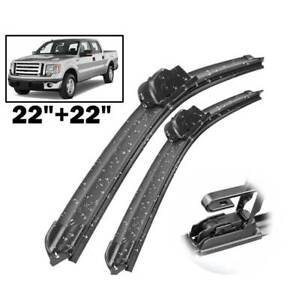 Xukey Car Front Windshield Wiper Blades For Ford F 150 F 250 F 350 Cadillac Dts