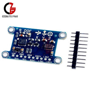 Axis Imu L3gd20 Lsm303d Module 9dof Compass Acceleration Gyroscope For Arduino