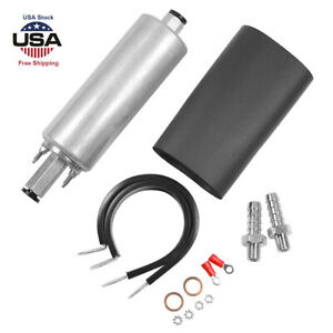 Genuine Gsl392 For Walbro Ti 255lph Inline High Pressure Fuel Pump W Install Kit