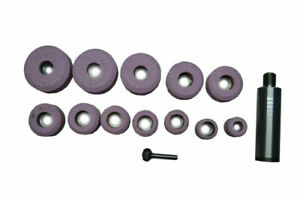Sioux Valve Seat Pink Grinding Wheels Set 12 Pcs Stone Holder Star Drive 11 16