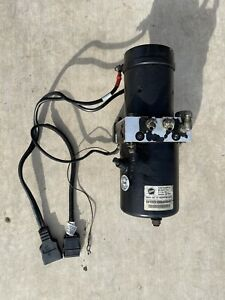 Fisher Insta Act 4000 Psi Straight Snow Plow Pump W Wiring