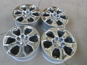 20 Dodge Ram 1500 Factory Wheels Rims Chrome Clad 6 Lug New 2019