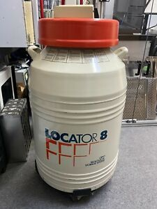 Thermolyne locator8 Cryo Biological Storage System liquid Nitrogen Dewar
