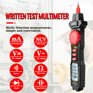Aneng A3004 Pen Type Digital Multimeter Lcd 4000 Counts Auto Range tester Usa