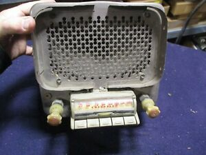 1946 1947 1948 Chevy Car Radio Original Gm Coupe Sedan Fleetline Bomb Lowrider