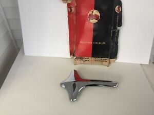 Nos Chrome Hood Fender Ornament 1955 Ford 1940 S And 1950 S Accessory