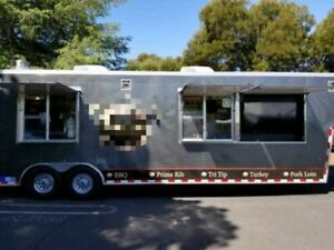 2015 8 5 X 38 Bbq Food Concession Trailer Used Mobile Food Unit For Sale I