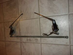 1946 1947 1948 Chevy Windshield Wiper Towers Original Gm Trico Pair With Arms