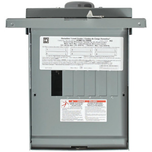 Circuit Breaker 100 Amp 6 space 12 circuit Outdoor Main Lug Load Center Power