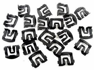 Windshield Or Rear Window Trim Molding Clips For 64 93 Ford Qty 20 Clips 120