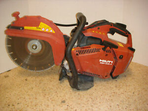 Hilti Dsh 600 x 60cc 12 In Hand Held Gas Street Concrete Saw Diamond Blade