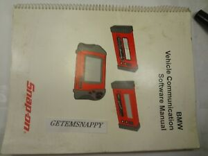 Snap On Bmw 2004 Vcs Scanner Cartridge Software Manual