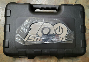 New Snap on Tools 100th Anniversary 100 Piece 1 4 Socket Ratchet Extension Set