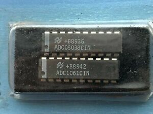 Analog To Digital Converters High Speed Adc1061 Adc08038