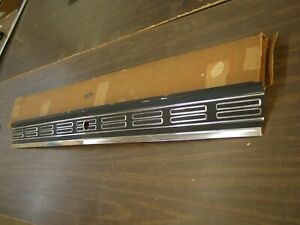 Nos Oem Ford 1968 Galaxie 500 Xl Ltd Deck Trunk Lid Moulding Trim Finish Panel