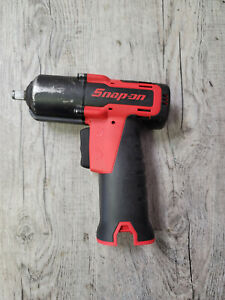 Snap on 14 4v 3 8 Impact Gun Red Microlithium Cordless Ct761a Tool Only Used