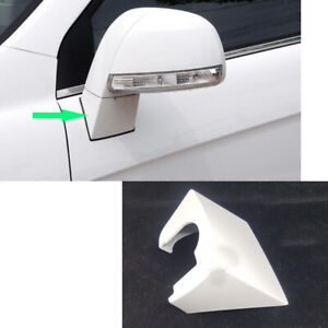 1x White Left Rearview Mirror Lower Cover Support For Chevrolet Captiva 2008 17