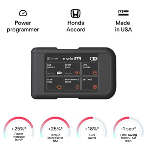 Honda Accord Smart Engine Tuning Chip Power Programmer Performance Race Tuner