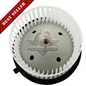 1x Heater Hvac Blower Motor W Fan Cage Assembly For Cadillac Chevrolet Gmc 03 13