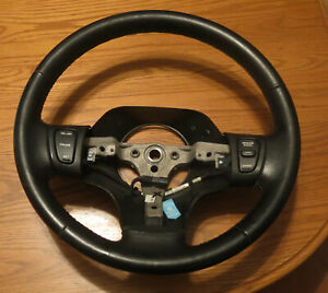 1996 1997 1998 Jeep Grand Cherokee Leather Wrap Steering Wheel W Cruise Switches