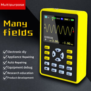 5012h Handheld Portable Ips Lcd Digital Mini Oscilloscope 100mhz 500msa s T3r0