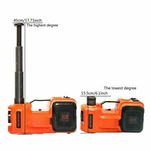 5 Ton Car Jack Electric Hydraulic Floor Jack With Impact Wrench Tire Repair Tool