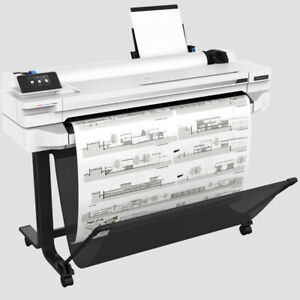 Hp Designjet T525 36 Wide Large Format Color Printer Cad Plotter New Save