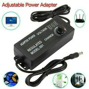 Ac dc 3v 12v Electrical Power Supply Adapter Charger Variable Voltage Adjustable