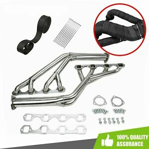 Stainless Steel Tri Y Exhaust Headers Fit 1964 1970 Ford Mustang 260 289cu V8