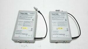 Lot Of 2 Smiths Medical 21 3801 01 Cadd Power Pack