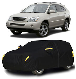 Waterproof Suv Car Cover Snow Dust Uv Protection W zipper For Lexus Rx 300 450