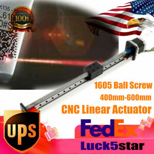 Cnc Linear Guide Rail Slide Stage Actuator Ball Screw Motion Table Stepper Motor