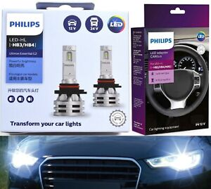 Philips Ultinon Led G2 Canceller 9006 Hb4 Two Bulbs Head Light Low Beam Lamp